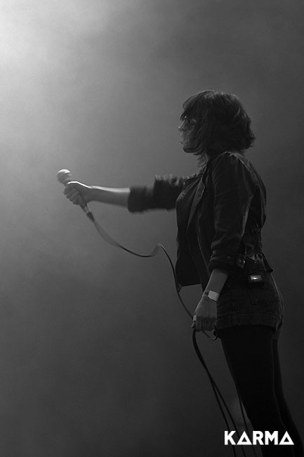Chvrches - Photo : Ugo Schimizzi