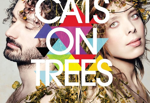 Cats on trees cover