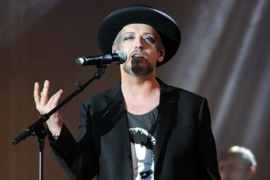 Boy George - Photo Manuella Binet