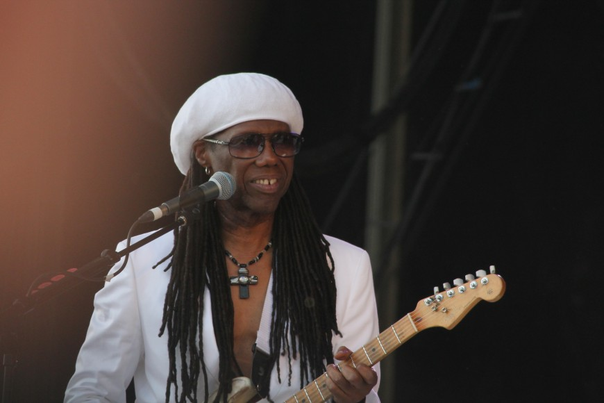 Nile Rodgers - Photo Manuella Binet