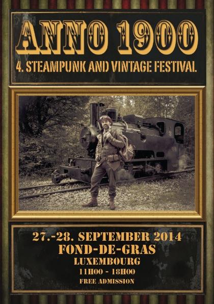 Flyer Steampunk 2014