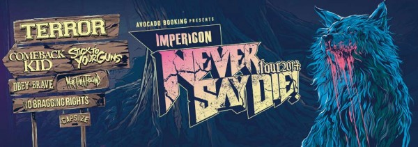 Never Say Die Banner