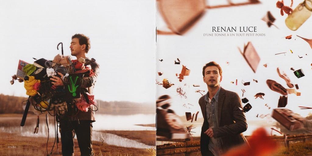Renan Luce - D´une Tonne A Un Tout Petit Poids - Booklet (1-8)