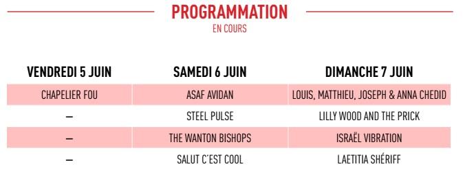 Jardin du michel 2015 premiers noms magazine karma for Jardin du michel 2015 programmation
